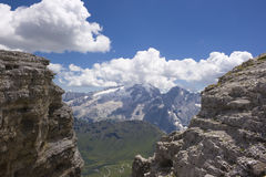 piękne lato górski krajobrazu Zdjęcie Royalty Free