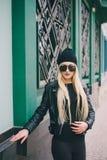 Piękne mod dziewczyny plenerowe Obraz Stock