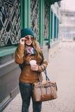 Piękne mod dziewczyny plenerowe Obrazy Stock