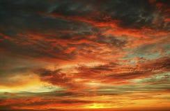 piękne niebo Obrazy Stock