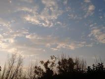 piękne niebo wzroku sunset bardzo Zdjęcia Royalty Free