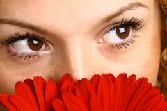 piękne oczy. Obrazy Royalty Free
