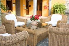 piękne patio typowe Obraz Royalty Free
