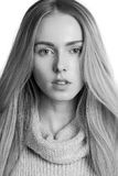 piękne portret kobiety young Zdjęcie Stock