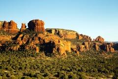 Piękne rewolucjonistka kamienia falezy Sedona, Arizona Obrazy Royalty Free