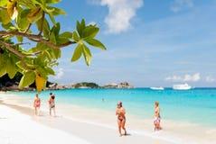 Piękne Similan wyspy Obraz Royalty Free