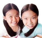 Piękne siostry Obrazy Royalty Free