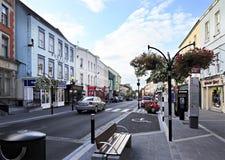 Piękne ulicy Kilkenny Obrazy Royalty Free