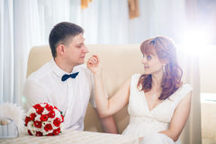 piękne wesele Zdjęcia Stock