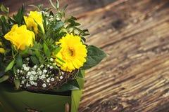 pięknego bukieta kolorowa kwiatów wiosna Zdjęcia Stock