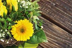 pięknego bukieta kolorowa kwiatów wiosna Fotografia Royalty Free