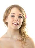 pięknego dziewczyny portreta nastoletni potomstwa Obrazy Royalty Free