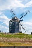 pięknego holenderskiego ja krajobrazu typowy wiatraczek Obrazy Stock