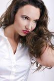 pięknego makeup portreta fachowa kobieta Fotografia Stock
