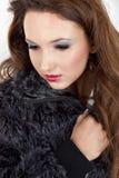 pięknego makeup portreta fachowa kobieta Zdjęcie Royalty Free