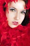 pięknego makeup portreta fachowa kobieta Zdjęcia Stock
