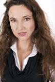 pięknego makeup portreta fachowa kobieta Obrazy Royalty Free