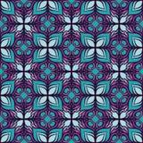 Pięknego wektorowego druku Bezszwowy wzór Mandala kwiaty Zdjęcia Royalty Free