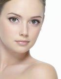 pięknej twarzy seksowni kobiety potomstwa Fotografia Royalty Free