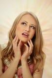 piękni blondynki dziewczyny potomstwa Zdjęcie Royalty Free