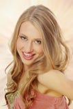 piękni blondynki dziewczyny potomstwa Obrazy Royalty Free