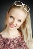 piękni blondynki kobiety potomstwa Fotografia Stock
