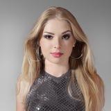 piękni blondynki kobiety potomstwa Zdjęcia Stock