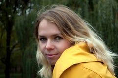piękni blondynki portreta potomstwa Zdjęcia Stock