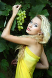 piękni blondynki portreta potomstwa Zdjęcie Stock