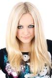piękni blondynki portreta potomstwa Fotografia Royalty Free