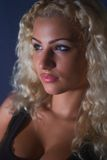 piękni blondyny Fotografia Royalty Free