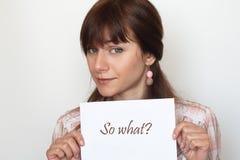 piękni brunetki karty mienia potomstwa Fotografia Royalty Free