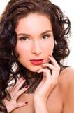 piękni brunetki kobiety potomstwa Obraz Stock