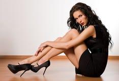 piękni brunetki kobiety potomstwa Zdjęcie Stock