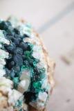 Piękni cristals, kopaliny i kamienie, Fotografia Stock