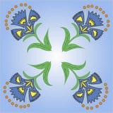 Piękni czarodziejka kwiaty Obrazy Royalty Free