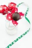 Piękni czekolada kije Zdjęcie Stock