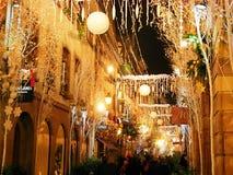Piękni domy w Europa Zdjęcie Stock