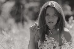 piękni dziewczyny parka potomstwa Zdjęcie Royalty Free