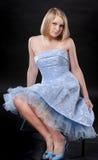 piękni dziewczyny portreta potomstwa Zdjęcia Stock