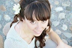piękni dziewczyny portreta potomstwa zdjęcia royalty free