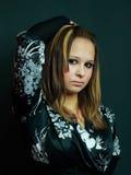 piękni dziewczyny studia potomstwa zdjęcie royalty free