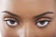 Piękni kobiet oczy Zdjęcie Stock