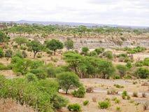 Piękni krajobrazy Afryka Zdjęcie Royalty Free