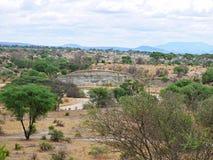 Piękni krajobrazy Afryka Zdjęcia Stock
