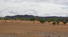 Piękni krajobrazy Afryka Zdjęcie Stock