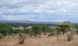 Piękni krajobrazy Afryka Fotografia Stock