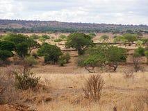 Piękni krajobrazy Afryka Obrazy Royalty Free