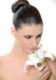 piękni kwiatu dziewczyny potomstwa Fotografia Stock