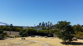 Piękni miejsca Sydney Australia Obraz Royalty Free